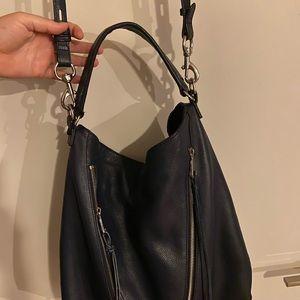 Rebecca Minkoff Bags - Rebecca Minkoff Moto Hobo Bag Navy blue